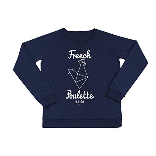 Sweat French Poulette Bleu Marine