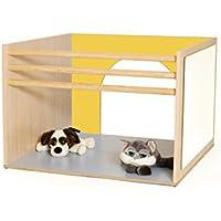 mobeduc Cube für Babys spielen, Holz, gelb, 100x 70x 100cm preisvergleich bei kinderzimmerdekopreise.eu