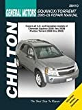 Chilton Chevrolet Equinox, Pontiac Torrent Repair Manual 2005-2009 (28410)