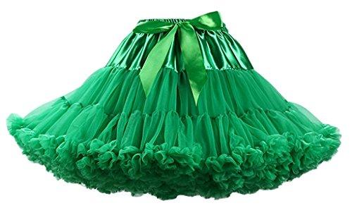 Noriviiq Damen Unterrock Grün