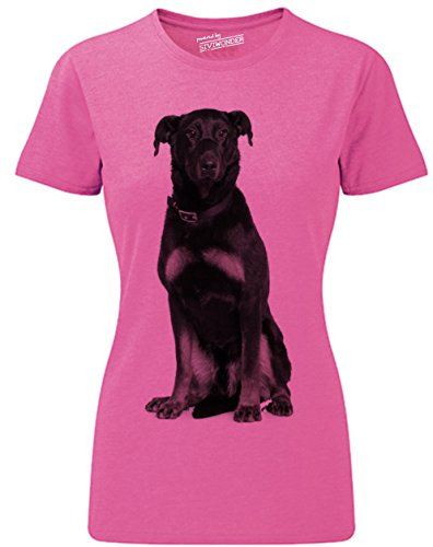 Siviwonder Women T-Shirt Beauceron french Schäferhund Hundesport Hunde pink marl