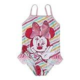 Disney Minnie 2200003782 Costume Intero, con Volant, Bambina, Multicolore (5)