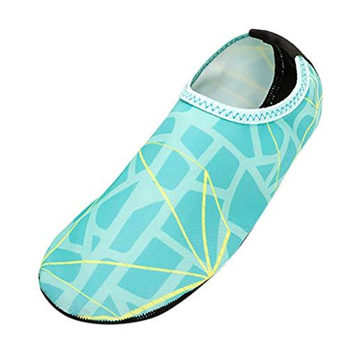 feiXIANG Herren Strandschuhe Laufschuhe Gestreifte Swimming Diving Socken Sportschuhe Sommer ()