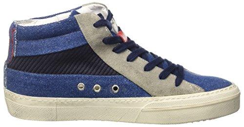 ISHIKAWA Marti, Baskets Hautes Mixte Adulte Blu (Blu Jeans)