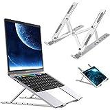 """Laptopstandaard, Notebook Standaard, Multifunctie Verstelbare Ergonomische Laptop Stand Opvouwbare Draagbare Desktop Computer Houder Koeling Koeler Geventileerde Notebook Riser voor 10""""-15.6"""" tablet"""