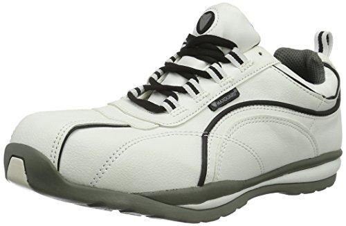 Maxguard Unisex-Erwachsene Levi L340 Sicherheitsschuhe Weiß (Weiß)