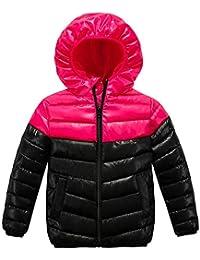 K-Youth Niños Parka para Niños Abrigo para Niñas Invierno Chaqueta Niño con Capucha Deportiva Trenca Ropa Bebe Niño Abrigo Bebe Niña Otoño Calentito Elegante Jacket