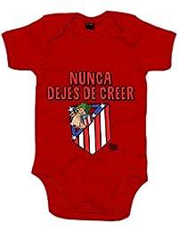 Body bebé Atlético de Madrid nunca dejes de creer 2 ...