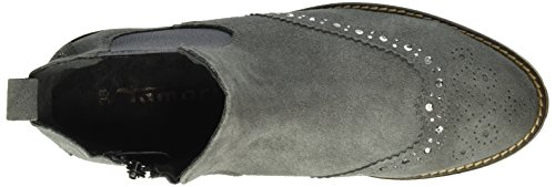 Tamaris Damen 25490 Chelsea Boots Grau (Anthracite 214)