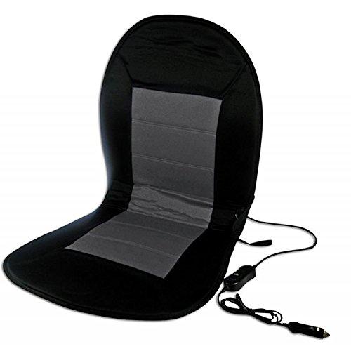 Auto PKW beheizbare Sitzauflage Sitzheizung 2 Heizstufen schwarz auch Sportsitze