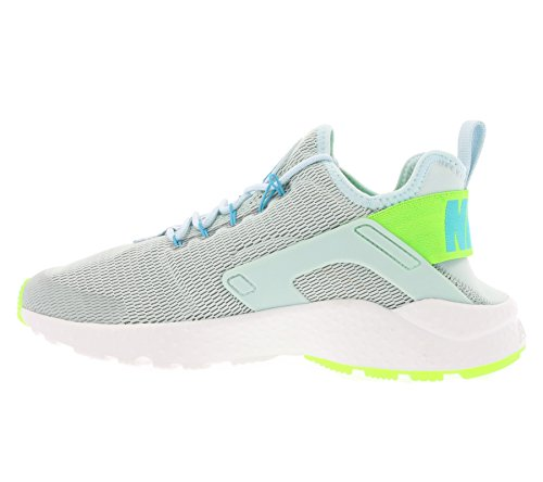 Nike W Air Huarache Run Ultra, Chaussures de Sport Femme Bleu - Azul Claro (Fiberglass / Elctrc Green-Gmm Bl)