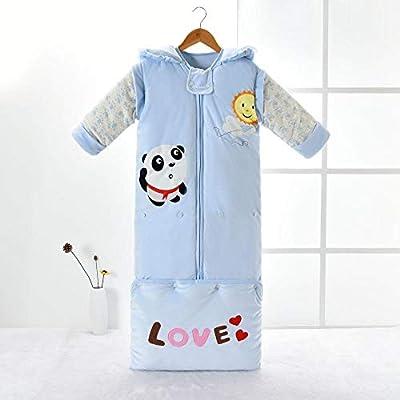 Recién Nacido Manta Envolvente,Saco de Dormir de algodón con Manga Desmontable, Saco de Dormir para niños en Crecimiento,Saco de Dormir Swaddle