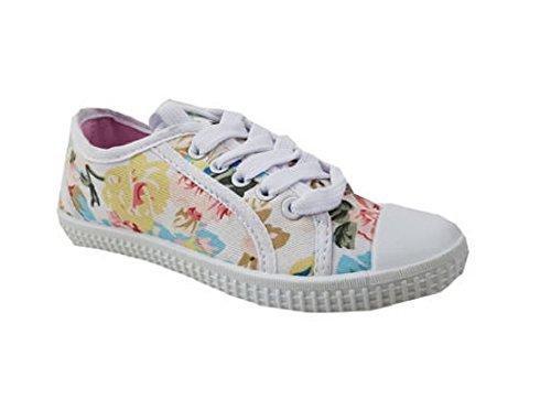 Koo-T , Mädchen Sneaker Daisy Cream