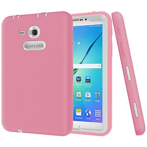 Beimu 3-in-1 Schutzhülle für Galaxy Tab 3 Lite 7.0 SM-T113 und Tab 3 Lite T110 / T111 (Gold-armband Zoll 7)