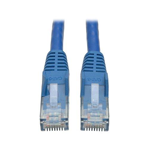 Tripp Lite Cable Patch Moldeado Snagless Cat6 Gigabit (RJ45 M/M) - Azul, de 7.62 m [25 pies] - Cable de red (de 7.62 m [25 pies], RJ-45, RJ-45, Macho/Macho, Cobre, 10/100/1000Base-T(X),