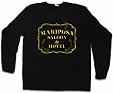 Mariposa Saloon & Hotel T-Shirt De Manga Larga Long Sleeve Shirt – Tamaños S – 5XL