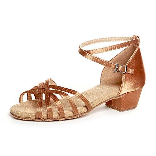 scarpe da ballo latino per bambini/ scarpe latino per bambini per ragazze/ dancing shoes/Scarpe di ballo Ladies E