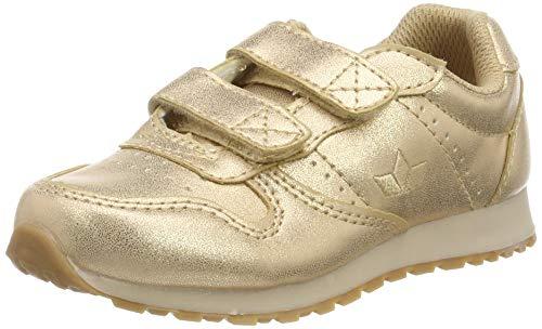 Lico Mädchen Glare V Sneaker, Gold Rosegold, 30 EU