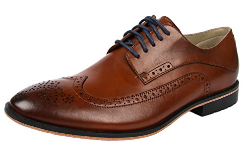 Clarks Gatley Limit, Scarpe Derby con lacci uomo, Marrone (Braun (Tan Leather)), 43