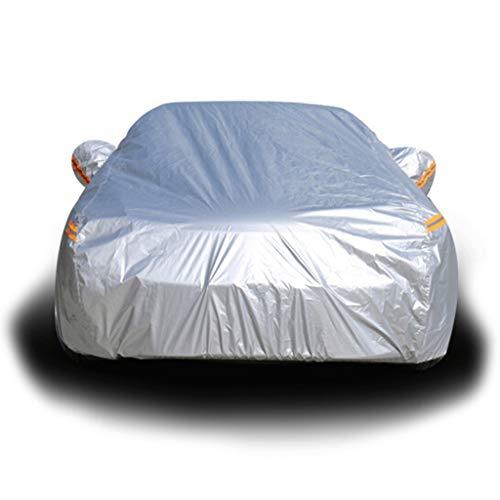 Autoabdeckung Geeignet für Nissan Special Sunscreen Visor Autokleidung Car Sunscreen Rain Car Cover (Farbe : Silber, größe : Nissan Bluebird)