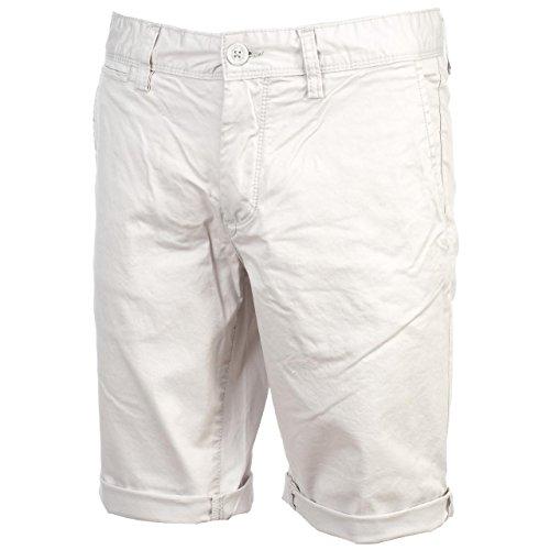 Teddy Smith-Chino Light Grey Short-Short modalità, grigio, 33