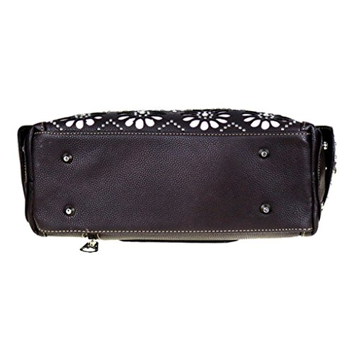 Montana West Western Collezione Bauletto / Borsetta Pink Aztec Saddle Concealed Carry