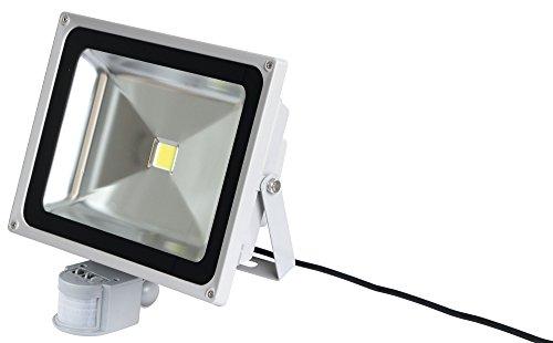 Kerbl 34572 LED-Außenstrahler 50 W mit Bewegungsmelder