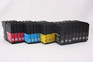4 Sets + 4 EXTRA BLACK - 20x compatible Ink Cartridges to Brother LC985 & LC39 - 8x Black + 4x Cyan + 4x Magenta + 4x Yellow for Brother DCP-J125 DCP-J315W DCP-J415W DCP-J515W MFC-J220 MFC-J265W MFC-J410, High Quality Ink ! INSERT AND PRINT!