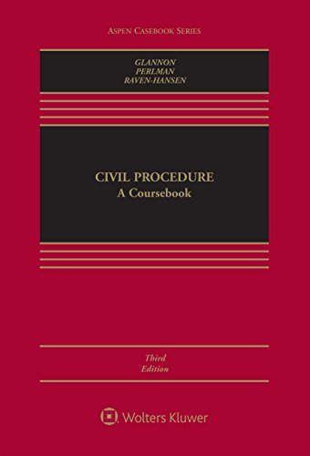 Civil Procedure: A Coursebook (Aspen Casebook Series) (English Edition)
