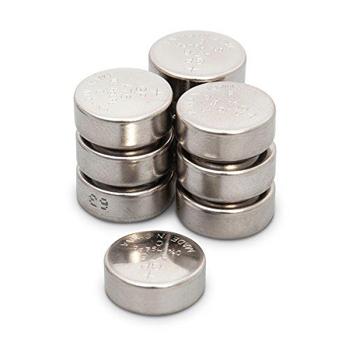 LR44 Knopfzellen Batterien (A76 / AG13) 10 Stück Multi-Sparpack GP Markenware [1.5V - Ohne Quecksilber]