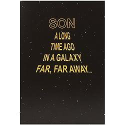 Hallmark Star Wars Geburtstagskarte für den Sohn (englischsprachig), mittelgroß