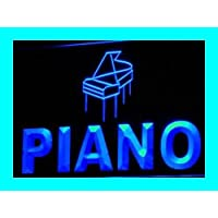 ADV PRO i369-b PIANO Shop Music Instruments NR Neon Light Sign