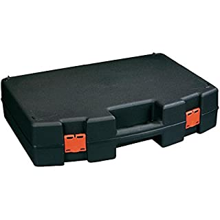 ALUTEC Basic 500 Briefcase/Classic Case for Equipment (Briefcase/Classic Case, Plastic, Black, 500 mm, 110 mm, 350 mm)
