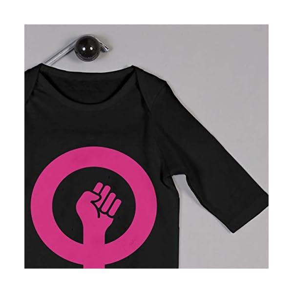 Feminista Recién Nacido Niñas Niños Niño Bebé Mameluco Manga Larga Infantil Niño Camisas 2