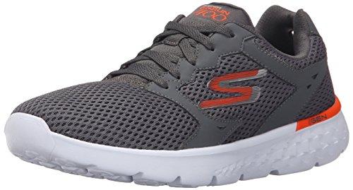 Skechers (SKEES) GO RUN 400 - Zapatillas de deporte para hombre, color gris, talla 43.5