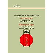 Japan-Bibliographie 1951-1970