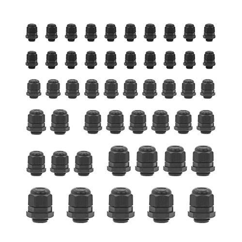 25 x 35mm 1 Paio-IP67 IMPERMEABILE 3 ~ 6.5mm di diametro PRESSACAVO Connettori