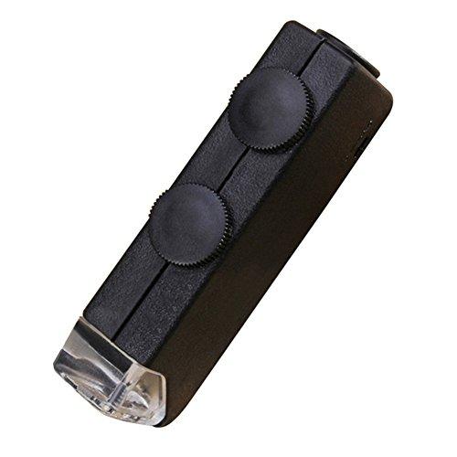 Miaozaigou Neue Hochleistungs-Portable Lupe 60-100-fach Zoom Licht - Briefmarken überprüfen