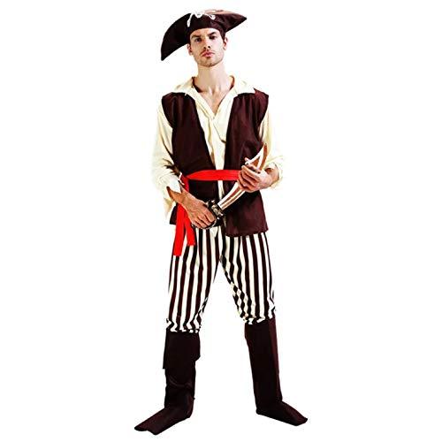 Seeräuber Kostüm Herren - thematys Pirat Seeräuber Kostüm-Set für Herren