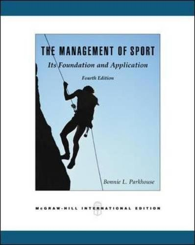 The Management of Sport: Its Foundation and Application with PowerWeb Bind-in Card