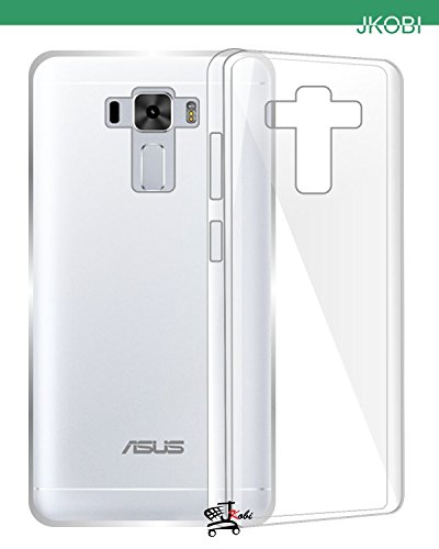 Jkobi Exclusive Soft Silicone TPU Jelly Crystal Clear Case Soft Back Case Cover For Asus Zenfone 3 Laser ZC551KL (5.5Inch) -Transparent  available at amazon for Rs.125