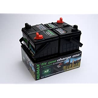 Numax 12v Fit One – Charge One (2 x 35 ah batteries & charger) 41m6YKqjpHL