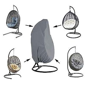 Silvotek Abdeckung für Hängesessel – Wasserdichtes Hängende Stuhlabdeckung mit strapazierfähigem Kordelzug, 210D Oxford…