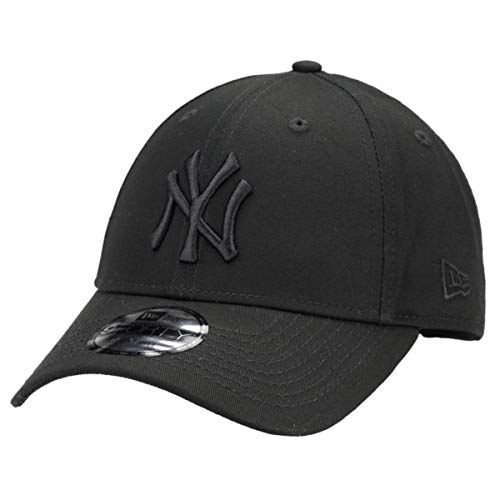 New Era 9Forty Unisex Damen Herren MLB League Essential 940 Adjustable CapStrapback Cap Baseball Cap A1 NY Schwarz 3331