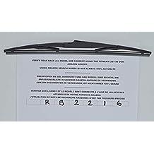 Exact Fit RB2216 - Escobilla para limpiaparabrisas trasero