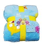 -; Pinkfong Baby Shark - Coperta in Pile Super Morbida da Viaggio per Bambini, Idea Regalo