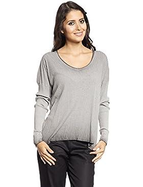 [Patrocinado]Abbino 6353-22 Camisas Blusas Tops para Müjer - Hecho en ITALIA - 4 Colores - Verano Otoño Invierno Femeninas...