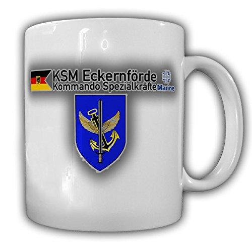 KSM Kommando Spezialkräfte Marine Bundesmarine Bundeswehr BW Eckernförde Kampfschwimmer Wappen Abzeichen Emblem - Tasse Kaffee Becher #15864