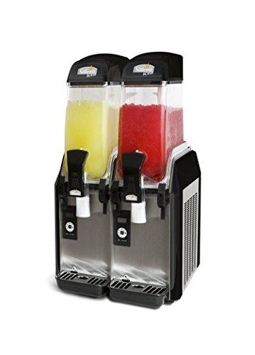 Granizadora Solera Eco D-224,(Profesional), Digital, 2 depósitos para Hacer 24 litros de granizados, Cócteles y sorbetes.