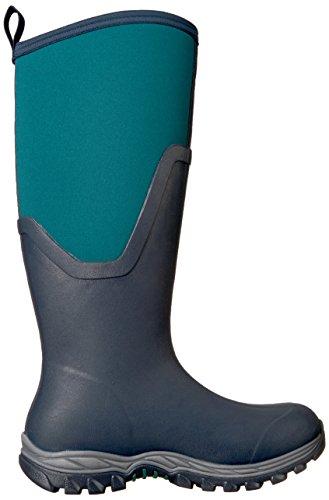 Bottes Muck Arctic Sport Ii Tall, Bottes En Caoutchouc Femme Bleu Marine / Epicéa